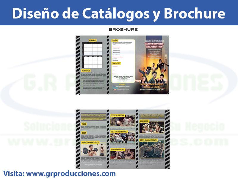 diseno de brochure catalogos y tarjetas 2